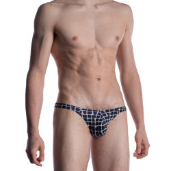 "Трусы-брифы ""M800 - Low Rise Brief White / Black"""