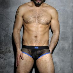 "Трусы-брифы ""Fetish Mesh Brief - Royal Blue"""
