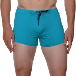 "Плавки-боксеры ""Fancy Fog Swim Short - Turquoise"" (SALE!)"