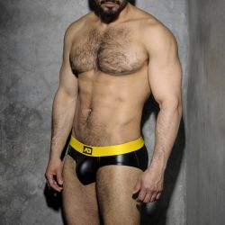 "Трусы-брифы ""Fetish Rub Brief - Yellow"" (SALE!)"