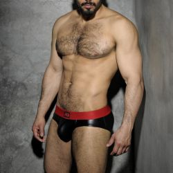"Трусы-брифы ""Fetish Rub Brief - Red"""