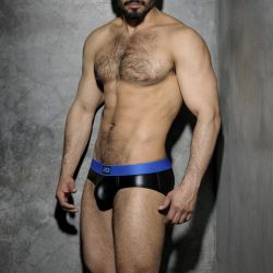 "Трусы-брифы ""Fetish Rub Brief - Royal Blue"" (SALE!)"