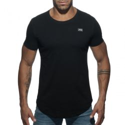 "Футболка ""Basic U-Neck T-Shirt - Black"""