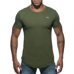 "Футболка ""Basic U-Neck T-Shirt - Khaki"""