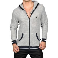 "Худи ""Athletic Mesh Gym Hoodie - Heather Grey"""