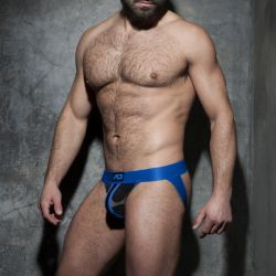 "Трусы-джоки ""Camo Stripe Fetish Jock - Royal Blue"""