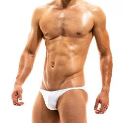 "Плавки - брифы ""Bodybuilding Low Cut Brief - White"""