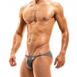 "Плавки - брифы ""Bodybuilding Low Cut Brief - Grey"""