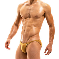 "Плавки - брифы ""Bodybuilding Low Cut Brief - Gold"""