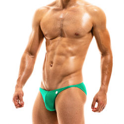 "Плавки - брифы ""Bodybuilding Low Cut Brief - Green"""