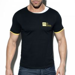 "Футболка ""Double Neck T-Shirt - Black"""
