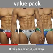 "Трусы-джоки ""Basic Jockstrap Three Pack"" (комплект 3 шт.)"