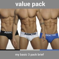 "Трусы-брифы ""My Basic Brief Three Pack"" (3 шт.)"